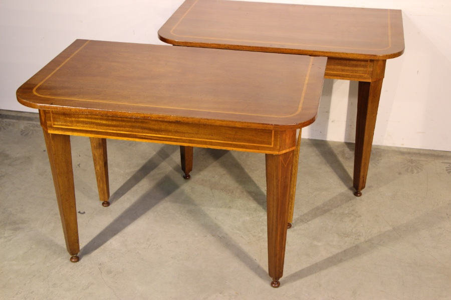 Most Recent Orange Inlay Console Tables With Buy Pair Console Hall Tables Inlaid From Antiques And Design Online (Image 15 of 25)