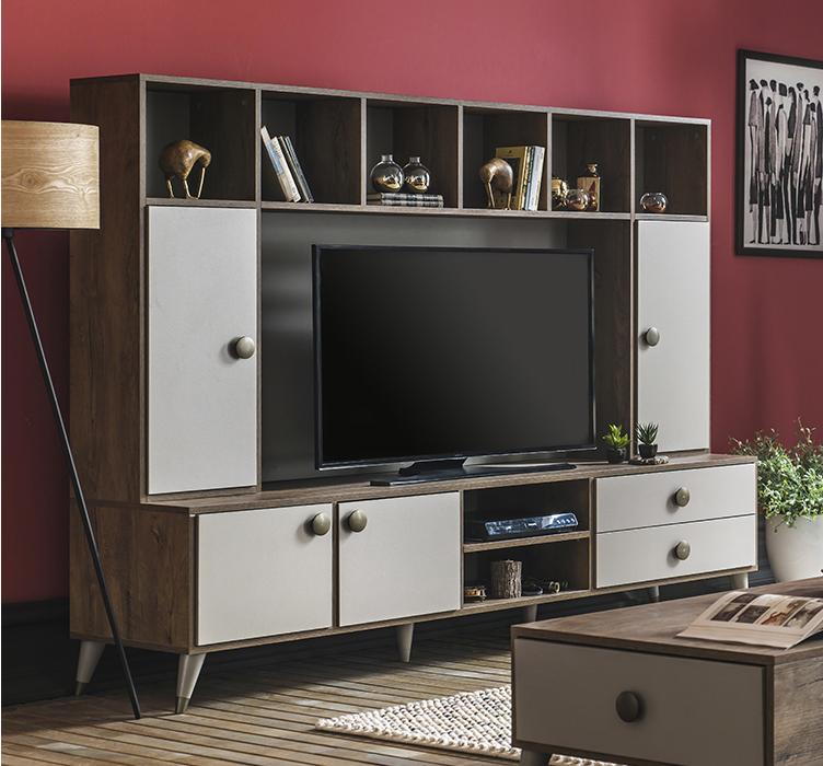 Most Recent Vista 60 Inch Tv Stands Inside Tv Ünitesi Modelleri – Enza Home (Image 14 of 25)