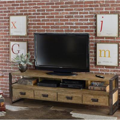 """Most Recent Walton 74 Inch Open Tv Stands Pertaining To 17 Stories Walton Tv Stand For Tvs Up To 78"""" & Reviews (Image 15 of 25)"""
