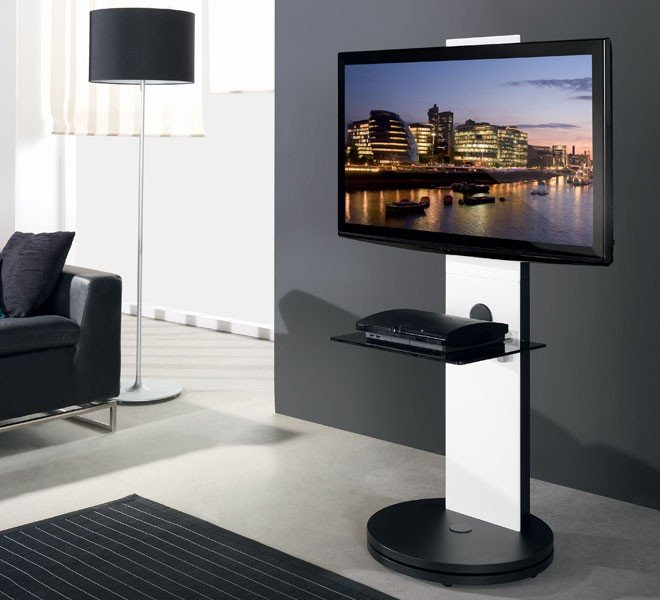 Most Recent White Cantilever Tv Stand With Regard To Swivel Tv Stand Intended For Btf811 White Cantilever Tv With (Image 17 of 25)