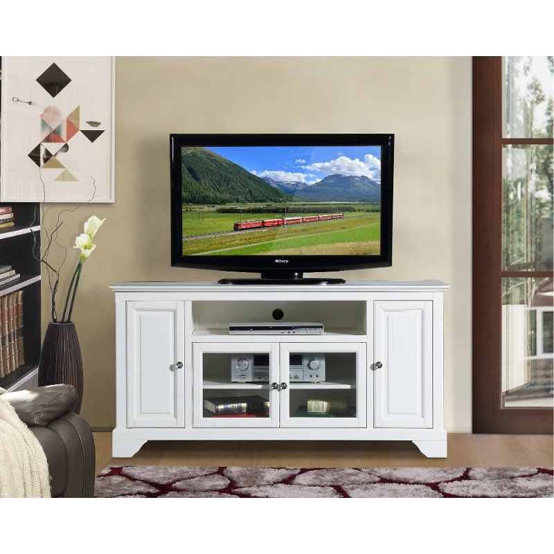 Most Recently Released Cheap White Tv Stands Regarding 60 Inch White Tv Stand – Irvington (View 8 of 25)