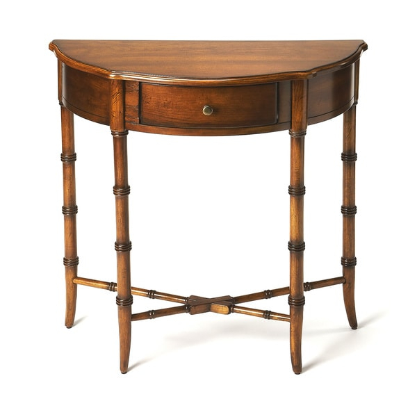 Most Recently Released Clairemont Demilune Console Tables In Demilune ~ Caravellekiralama (Image 15 of 25)
