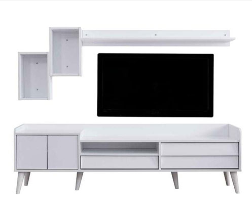Most Recently Released Ducar 74 Inch Tv Stands Intended For Tv Ünitesi Modelleri Ve Televizyon Sehpası Fiyatları – Vivense Mobilya (Image 14 of 25)