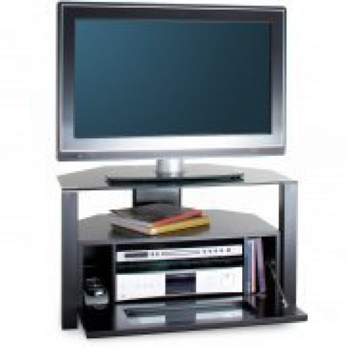 Most Recently Released Glass Front Tv Stands Regarding Alphason Abrd800 Glass Front Ambi Stand – Tv Stands – Brackets (Image 16 of 25)
