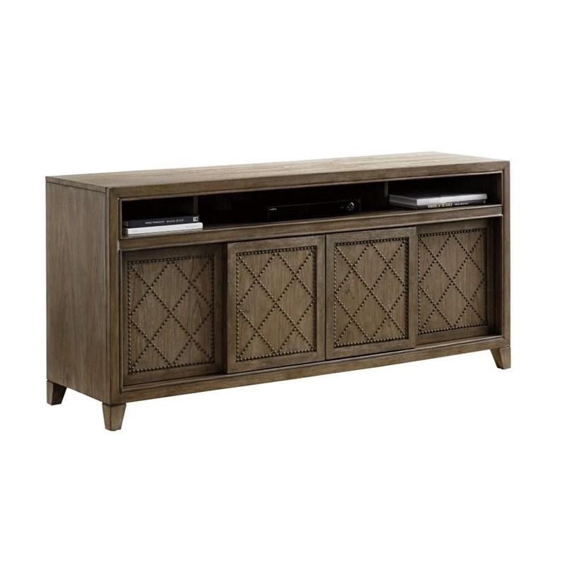 Most Recently Released Natural 2 Door Plasma Console Tables Intended For Tv Stands (Image 12 of 25)