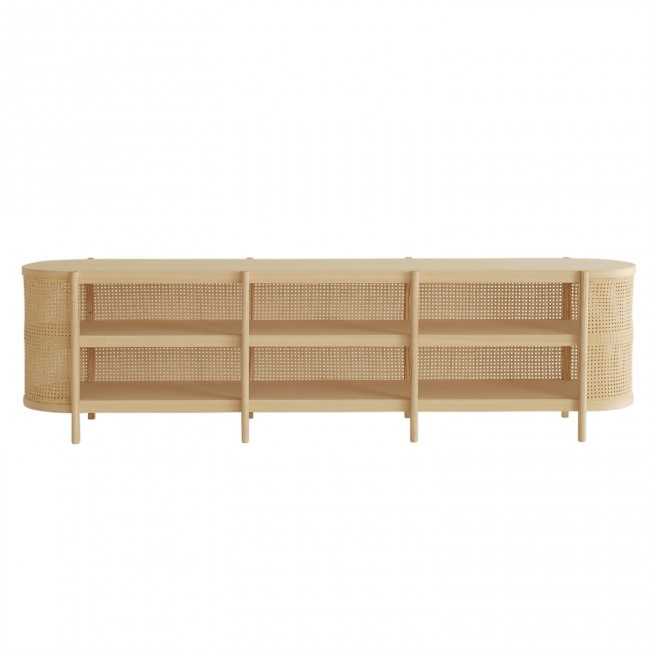 Most Recently Released Natural Cane Media Console Tables With Regard To Cane Tv Cabinetcane Collection (View 6 of 25)