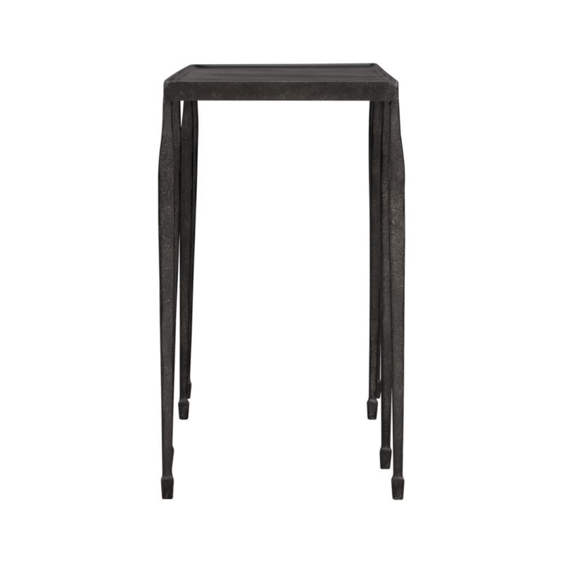 "Most Recently Released Silviano 60 Inch Iron Console Tables Regarding Silviano 84"" Iron Console Table (Image 18 of 25)"