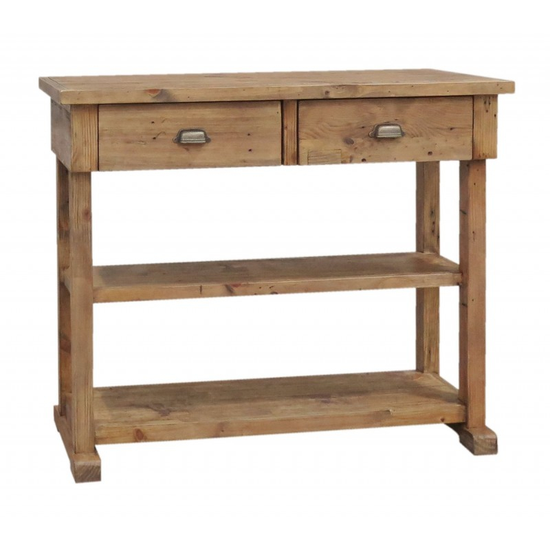 Most Recently Released Tobias Media Console Tables With Tobias Pine Console Table Progressive Furnishings (Image 9 of 25)