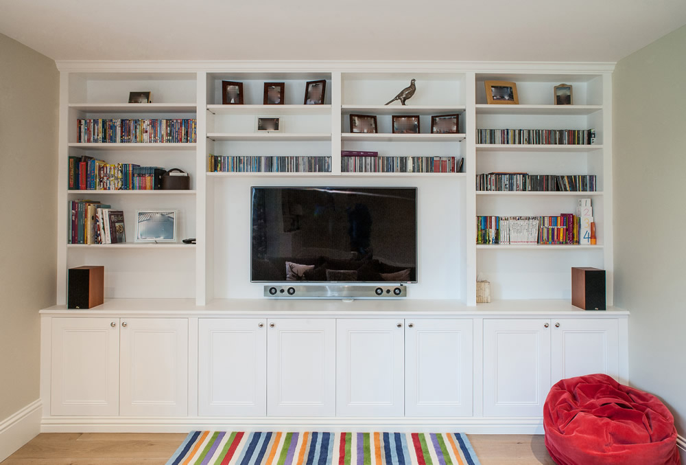 Most Up To Date Bespoke Tv Cabinet In Bespoke Entertainment Units, Custom Woodwork (Image 12 of 25)