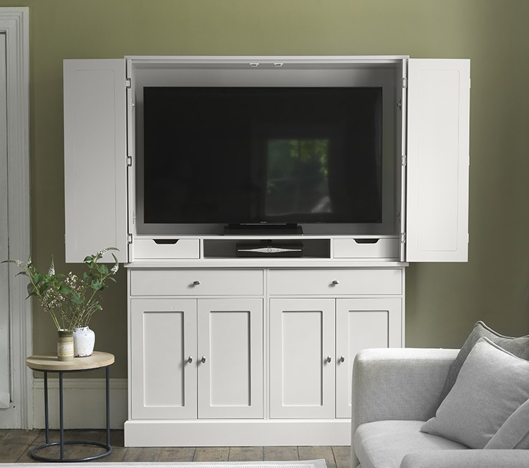 Most Up To Date Bespoke Tv Cabinet In Tv Storage/television, Media, Uk Furniture Bespoke Painted Furniture (View 2 of 25)