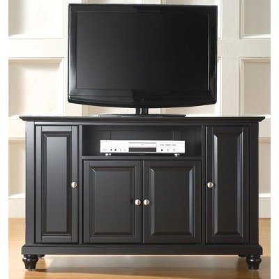 Most Up To Date Black Corner Tv Stands For Tvs Up To 60 Throughout Black 60 Inch Tv Stand – Cambridge (Image 17 of 25)