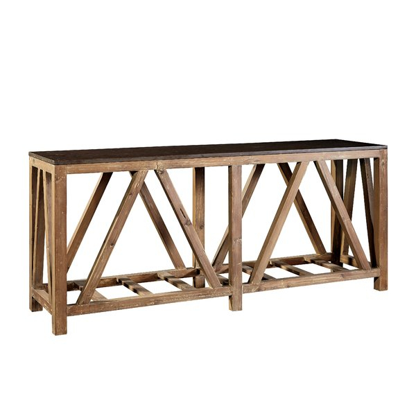 Most Up To Date Bluestone Console Tables Inside Loon Peak Wenner Bluestone Top Console Table (Image 16 of 25)