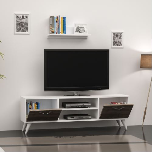 Most Up To Date Cato 60 Inch Tv Stands With Minar Horus Tv Ünitesi – Beyaz/istanbul (View 9 of 25)