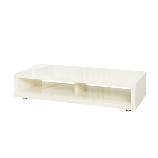 Most Up To Date Cream High Gloss Tv Cabinet For Curio Cream High Gloss Finish Low Board Tv Stand With  (Image 19 of 25)