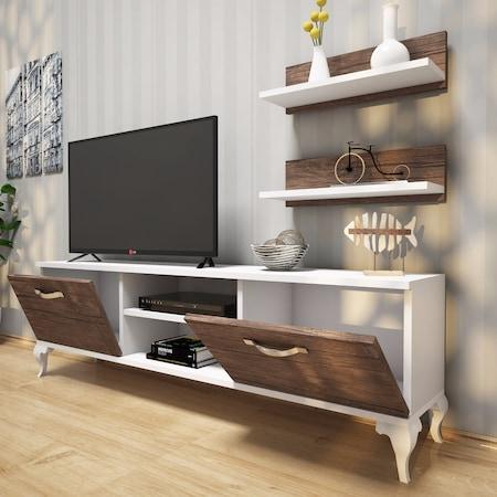 Most Up To Date Ducar 64 Inch Tv Stands With Tv Ünitesi & Tv Sehpası – Tv Üniteleri – N (Image 13 of 25)