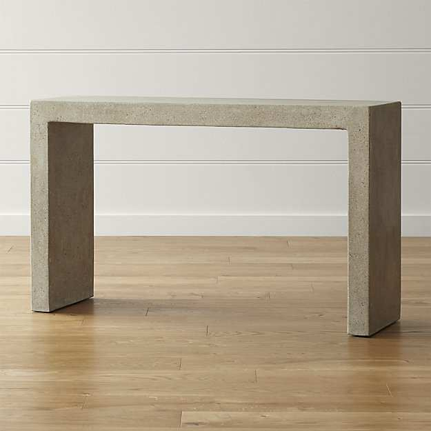 Most Up To Date Echelon Console Tables Within Echelon Console Table Of Simple Crate And Barrel Sofa Table (View 11 of 25)