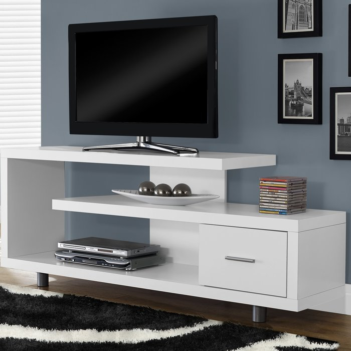 """Most Up To Date Edwin Black 64 Inch Tv Stands With Latitude Run Rundall Tv Stand For Tvs Up To 69"""" & Reviews (View 12 of 25)"""