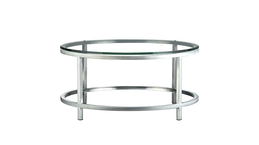Most Up To Date Era Glass Console Tables Inside Table: 48 Round Coffee Table (Image 18 of 25)