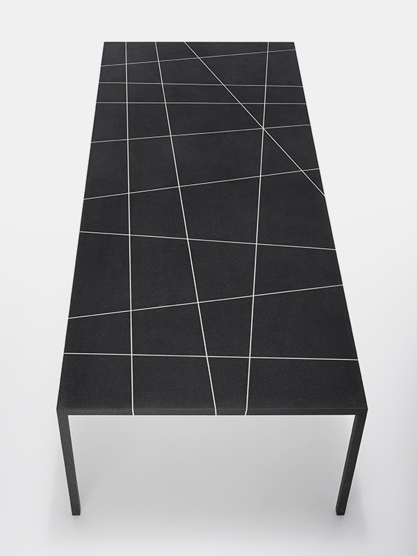 Most Up To Date Intarsia Console Tables Pertaining To Tense Material Intarsia. New Marble Finishes (Image 20 of 25)