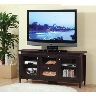 "Most Up To Date Maddy 50 Inch Tv Stands Pertaining To Three Posts Orviston Corner Tv Stand For Tvs Up To 60"" & Reviews (Image 15 of 25)"