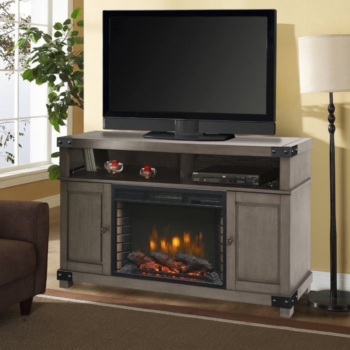 "Muskoka Hudson Tv Stand For Tvs Up To 60"" With Fireplace & Reviews Intended For Most Current Kenzie 60 Inch Open Display Tv Stands (View 3 of 25)"