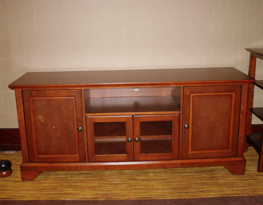Mx 6505 Wooden Tv Cabinet,glass Door Tv Stand,media Stand – Buy With Regard To Most Up To Date Tv Cabinets With Glass Doors (View 3 of 25)