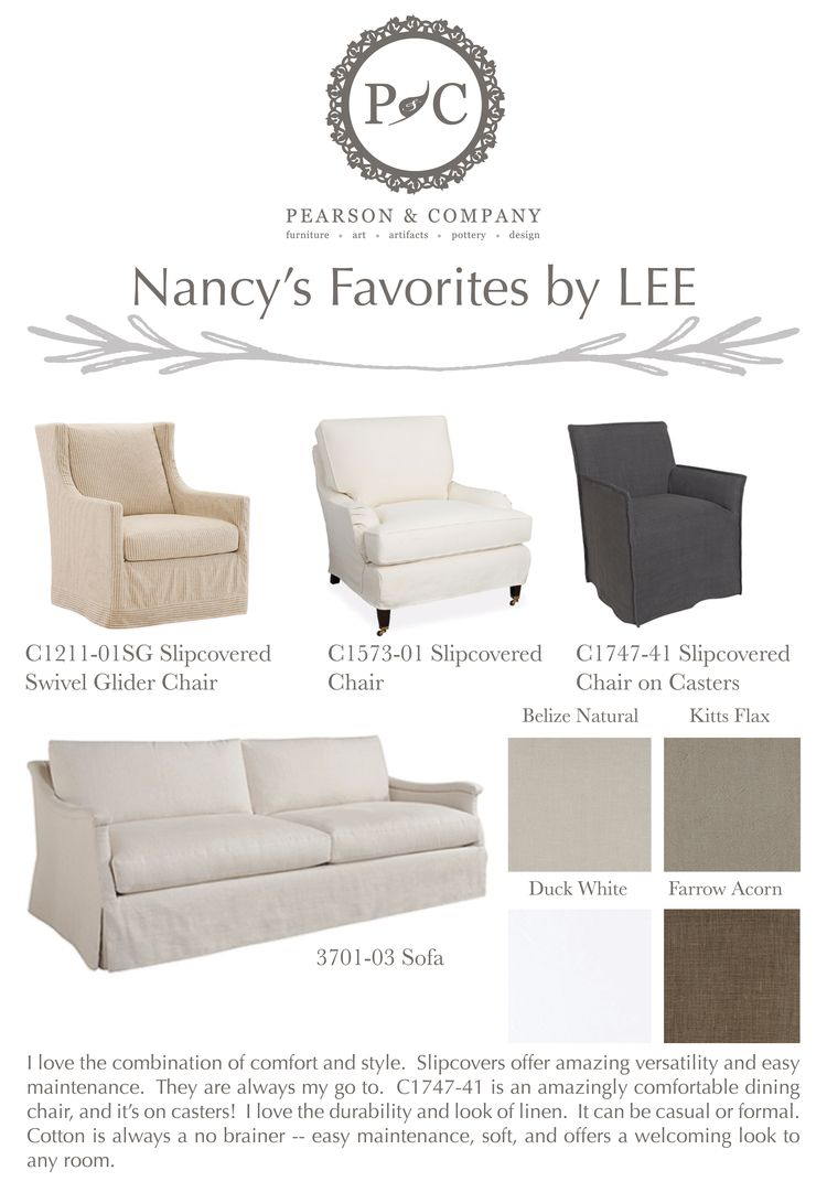 Nancy Lee Industries Picks Pearson & Company Omaha | Lee Industries Intended For Bailey Roll Arm Skirted Swivel Gliders (Image 20 of 25)