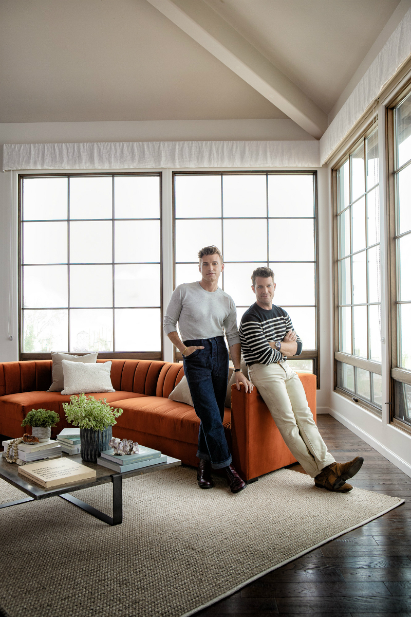 Nate Berkus & Jeremiah Brent Launch Outstanding Home Furniture Line for Matteo Arm Sofa Chairs by Nate Berkus and Jeremiah Brent