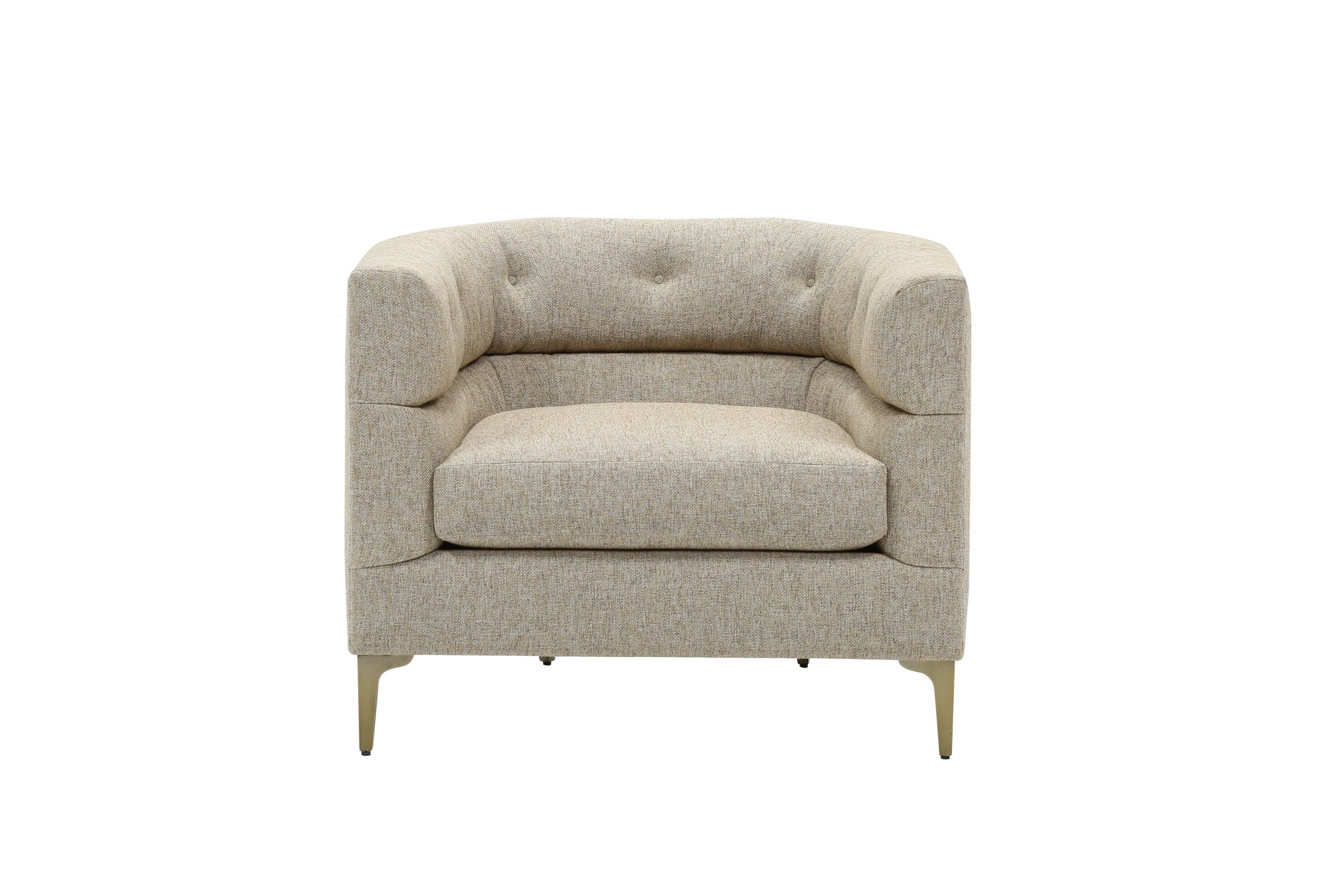Nate Berkus Just Launched A Home Collection With Hubby Jeremiah Intended For Ames Arm Sofa Chairs By Nate Berkus And Jeremiah Brent (View 4 of 25)