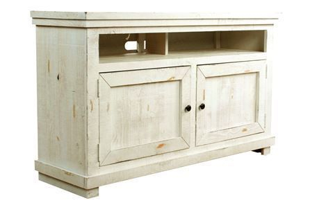 Featured Image of Sinclair White 54 Inch Tv Stands