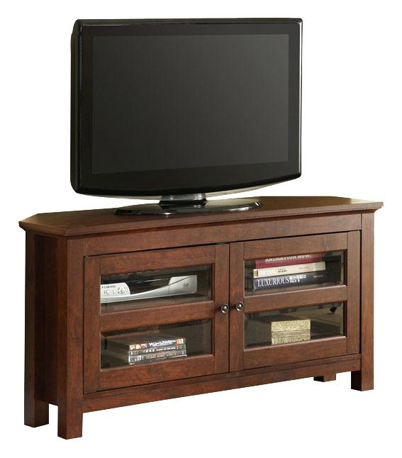 Newest Dark Brown Corner Tv Stands in Brown Corner Tv Stand Dark Wood Corner Stand Table Surprising Wood