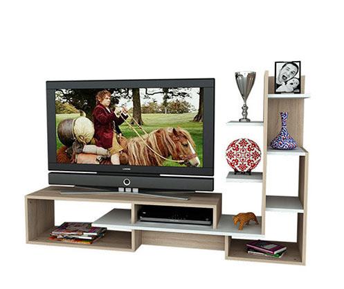 Newest Ducar 74 Inch Tv Stands With Küçük Tv Üniteleri – Vivense Mobilya (Image 15 of 25)