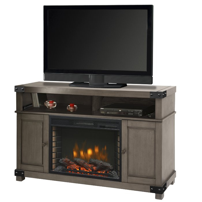 "Newest Kenzie 60 Inch Open Display Tv Stands With Muskoka Hudson Tv Stand For Tvs Up To 60"" With Fireplace & Reviews (Photo 17 of 25)"