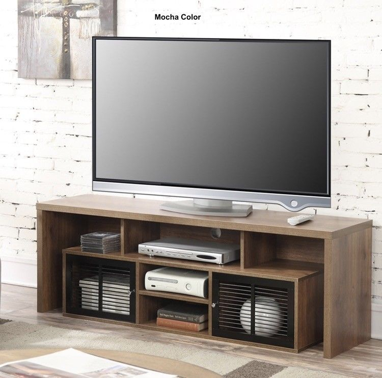 Newest Lauderdale 62 Inch Tv Stands With Regard To Simple Modern Tv Stand Up To 62 Inch Media Entertainment Center Flat (Photo 1 of 25)