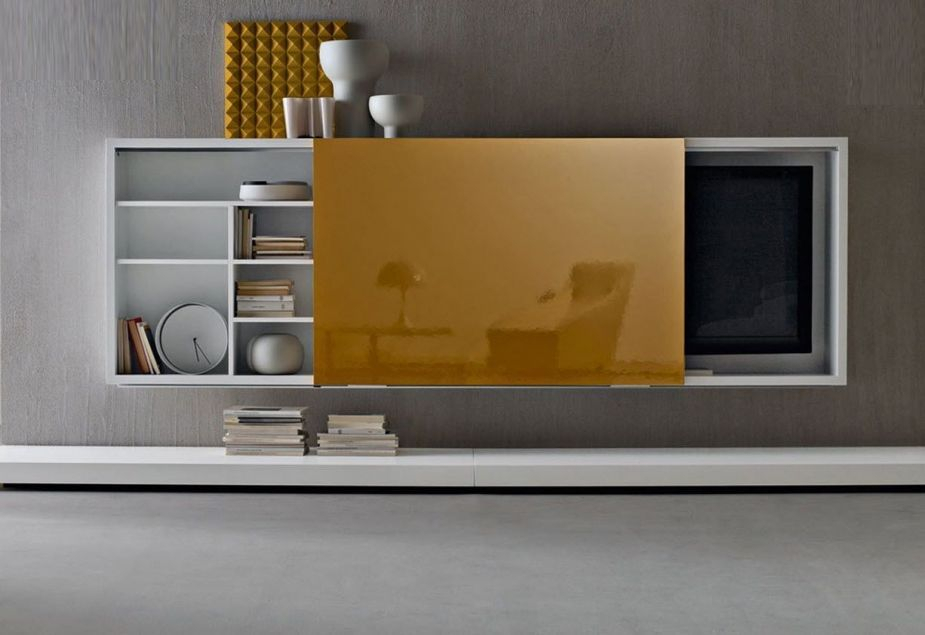 Newest Led Tv Cabinets Pertaining To Furniture, Contemporary And Elegant Design Wall Cabinets For Led Tv (Image 15 of 25)