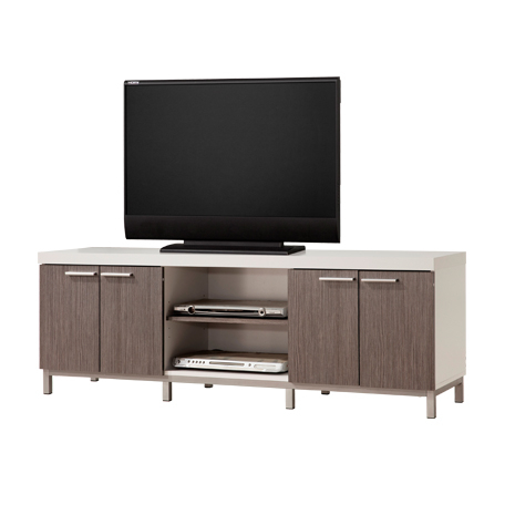 Newest Natural 2 Door Plasma Console Tables Intended For V (Image 14 of 25)