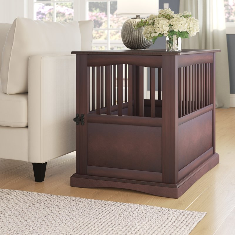 Newest Oscar 60 Inch Console Tables throughout Archie & Oscar Mendosa Pet Crate End Table & Reviews