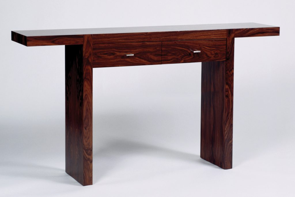 Newest Parsons Walnut Top & Dark Steel Base 48X16 Console Tables in Parsons Coffee Table Modern Travertine – Cuthaton