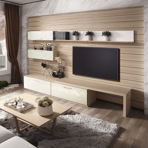 Newest Tv Wall Cabinets Throughout 17 Outstanding Ideas For Tv Shelves To Design More Attractive Living (View 13 of 25)