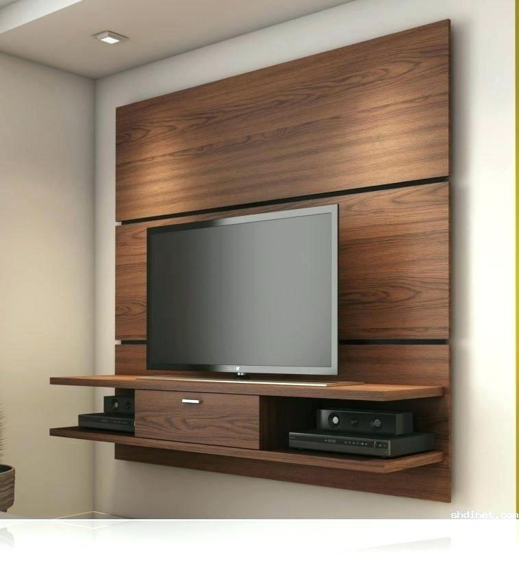Newest Tv Wall Cabinets Within Flat Screen Tv Wall Cabinet Furniture Extraordinary Cabinets For (View 16 of 25)