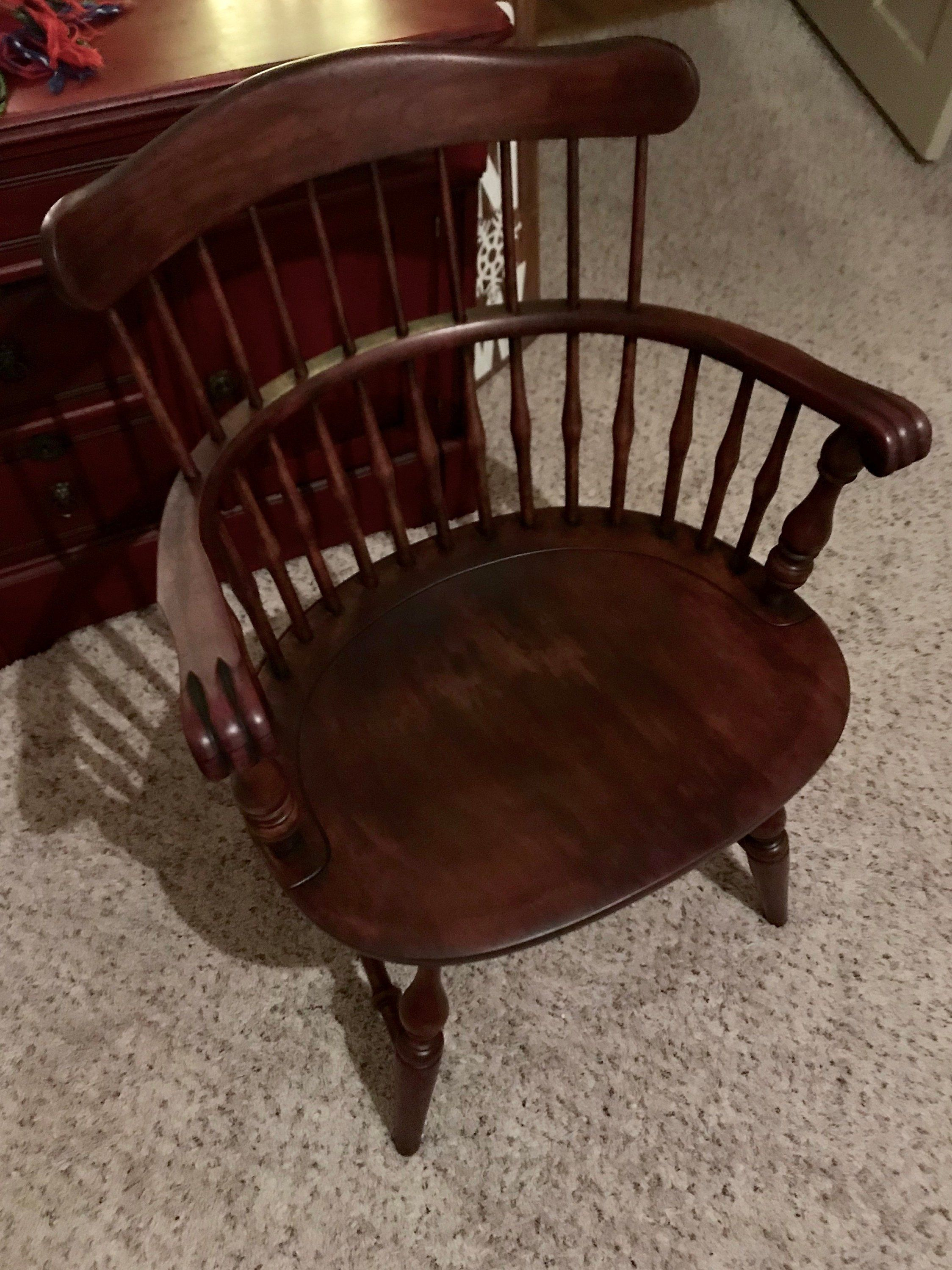 Nichols And Stone, Farmhouse Chair, Country Chair, Windsor Chair Inside Nichol Swivel Accent Chairs (Photo 18 of 25)