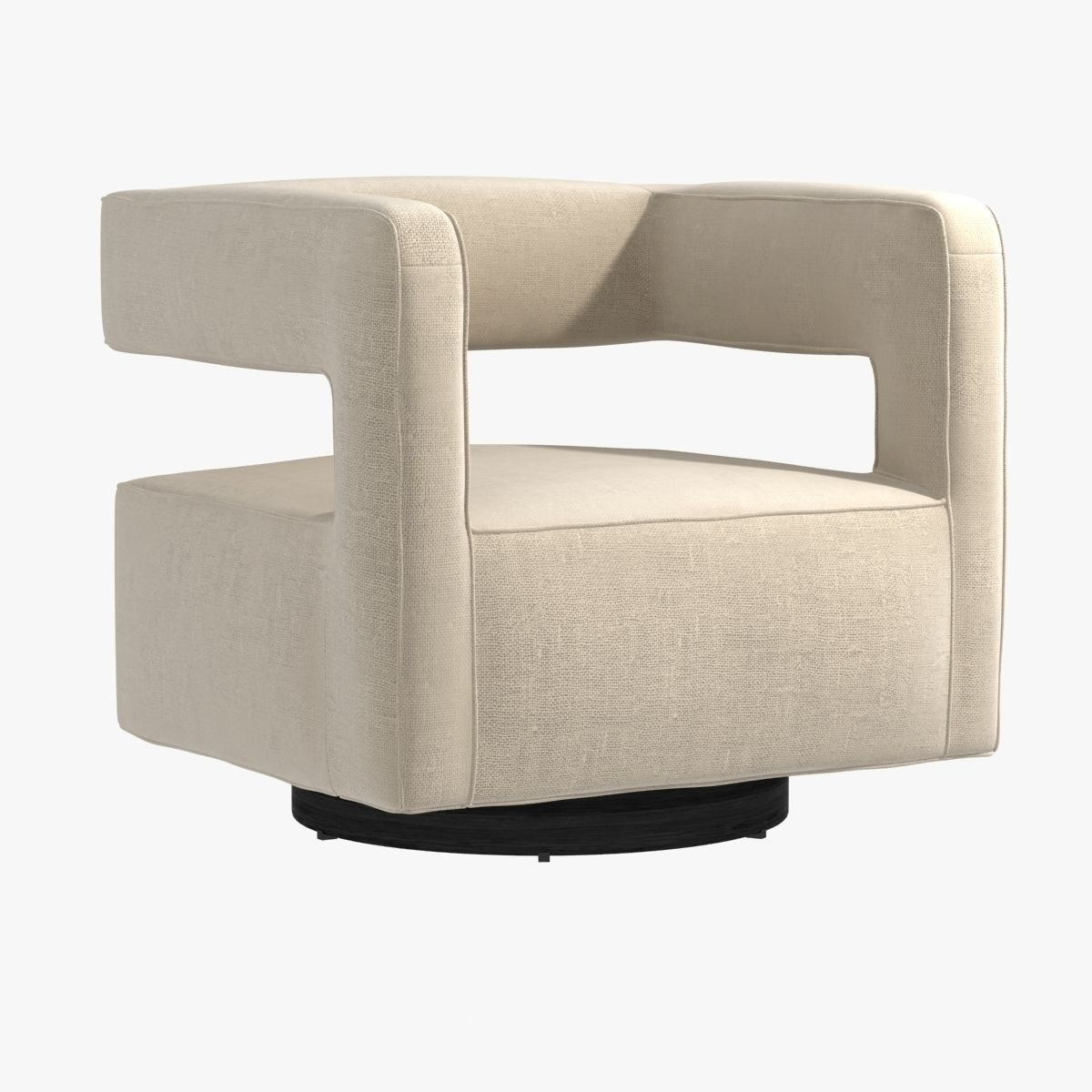 Nico Return Swivel Chairmitchell Gold Bob Williams 3D Model Max For Mitchell Arm Sofa Chairs (View 23 of 25)