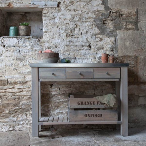 Oak Console Tables Archives – Haven Furniture Throughout Favorite Archive Grey Console Tables (Image 19 of 25)