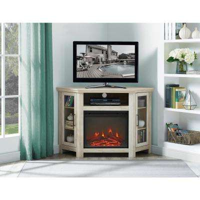 Oak - Electric Fireplaces - Fireplaces - The Home Depot regarding Preferred Wyatt 68 Inch Tv Stands