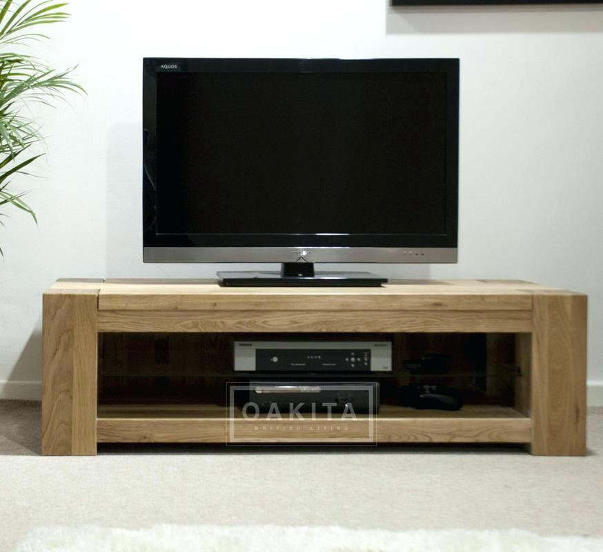 Oak Tv Stand Lo Helium Stand White Light Oak Stand – Aranui.co With Regard To Well Liked Low Oak Tv Stands (Photo 5 of 25)