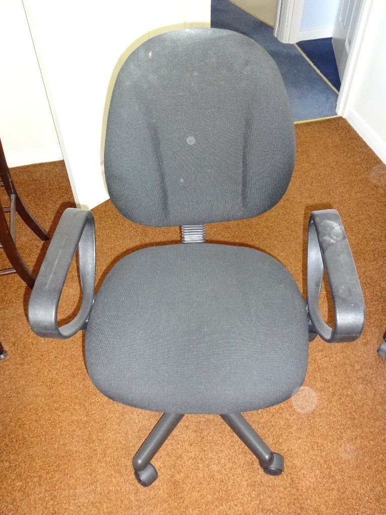 Office Swivel Chair Dark Grey | In Tilehurst, Berkshire | Gumtree throughout Dark Grey Swivel Chairs