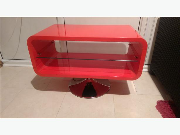 Opod Retro Tv Stand – Gloss Red ** Outside Black Country Region Regarding Most Recently Released Opod Tv Stand Black (View 14 of 25)