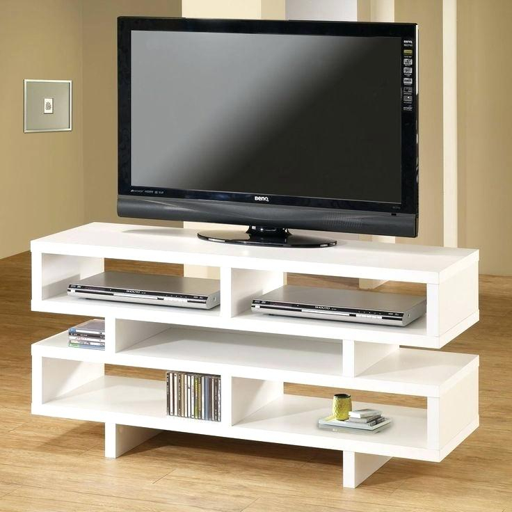 Opod Tv Stand White Coaster Fine Furniture Stand Stores Techlink intended for Most Recent Ovid White Tv Stand
