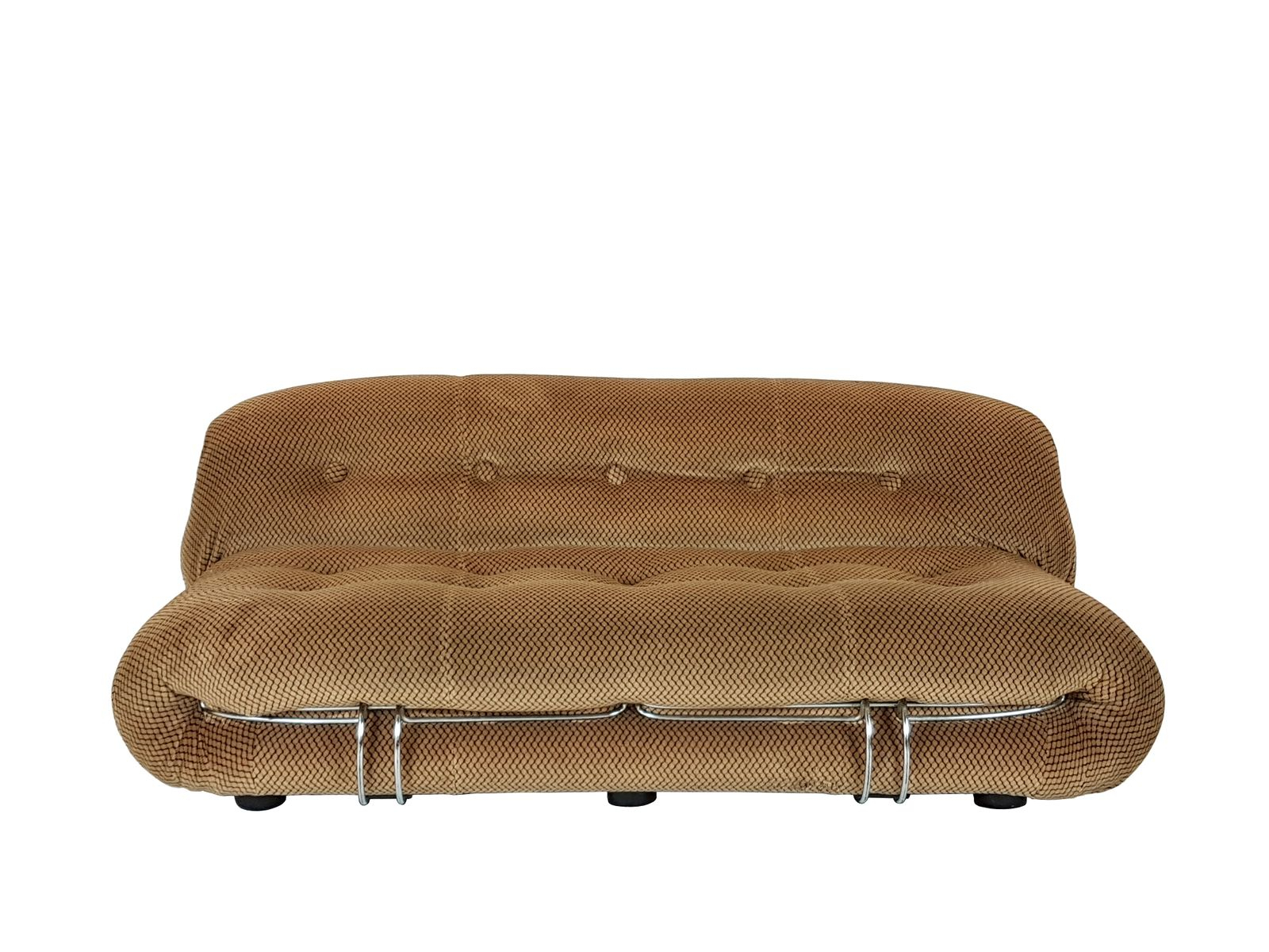 Optical Model Soriana Velvet Sofaafra & Tobia Scarpa For Cassina Inside London Optical Sofa Chairs (Image 24 of 25)