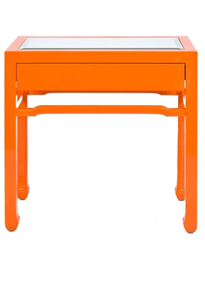 "Orange Accessories"" ""orange Decor"" ""orange Home Decor"" ""Orange Home With Regard To Well Known Parsons Travertine Top & Elm Base 48X16 Console Tables (Image 9 of 25)"